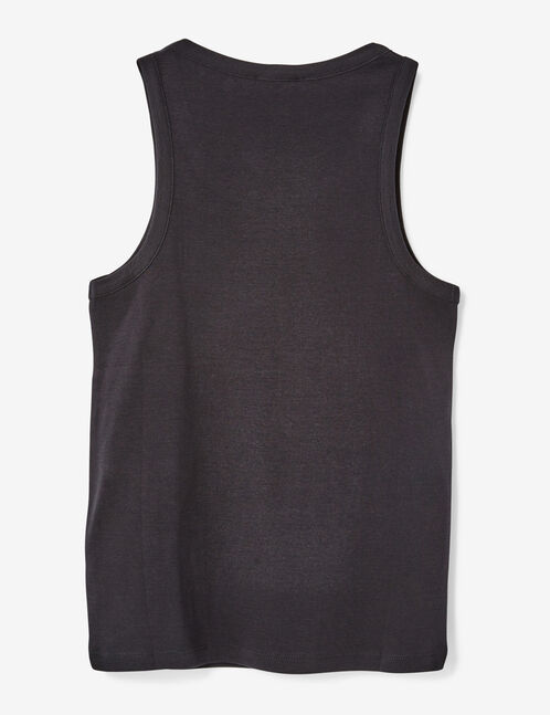 Basic black tank top
