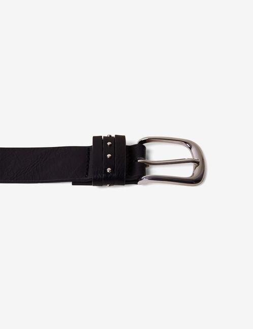 ceinture cloutée noire
