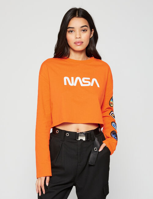 Crop top NASA