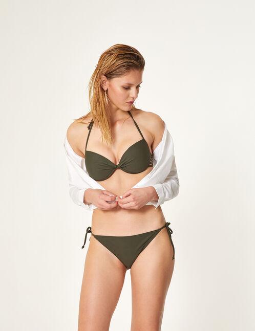 Khaki bikini set