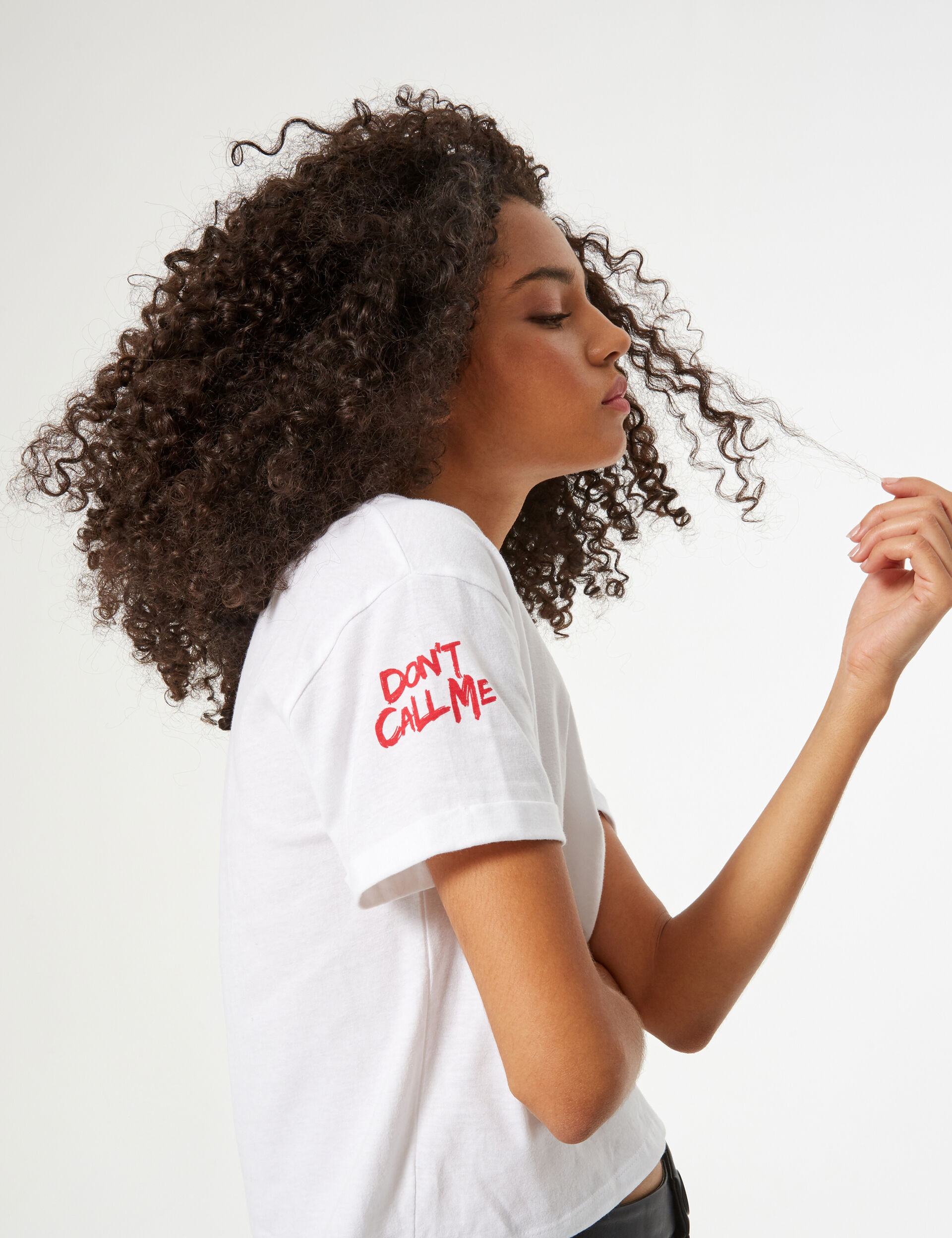 'Don't call me mocciosa' ('don't call me brat') T-shirt