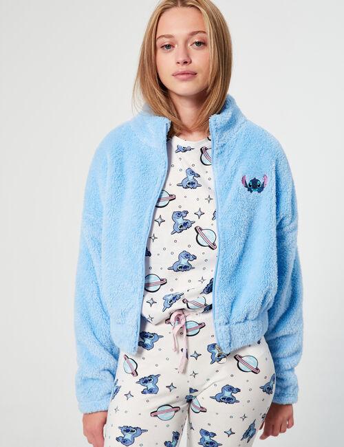 Gilet duveteux Disney Stitch