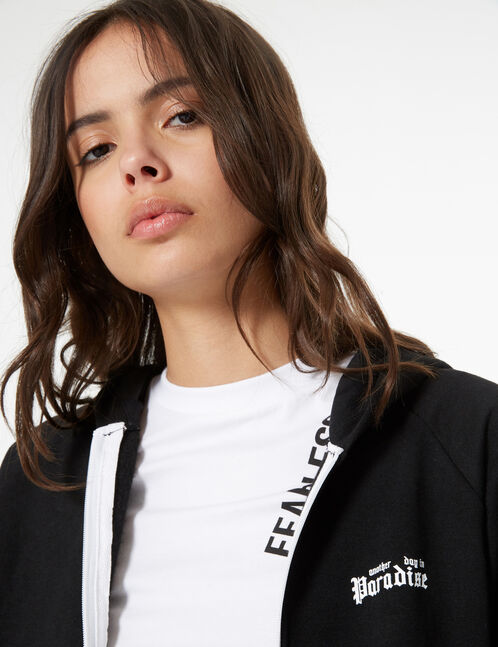 paradise zip sweatshirt