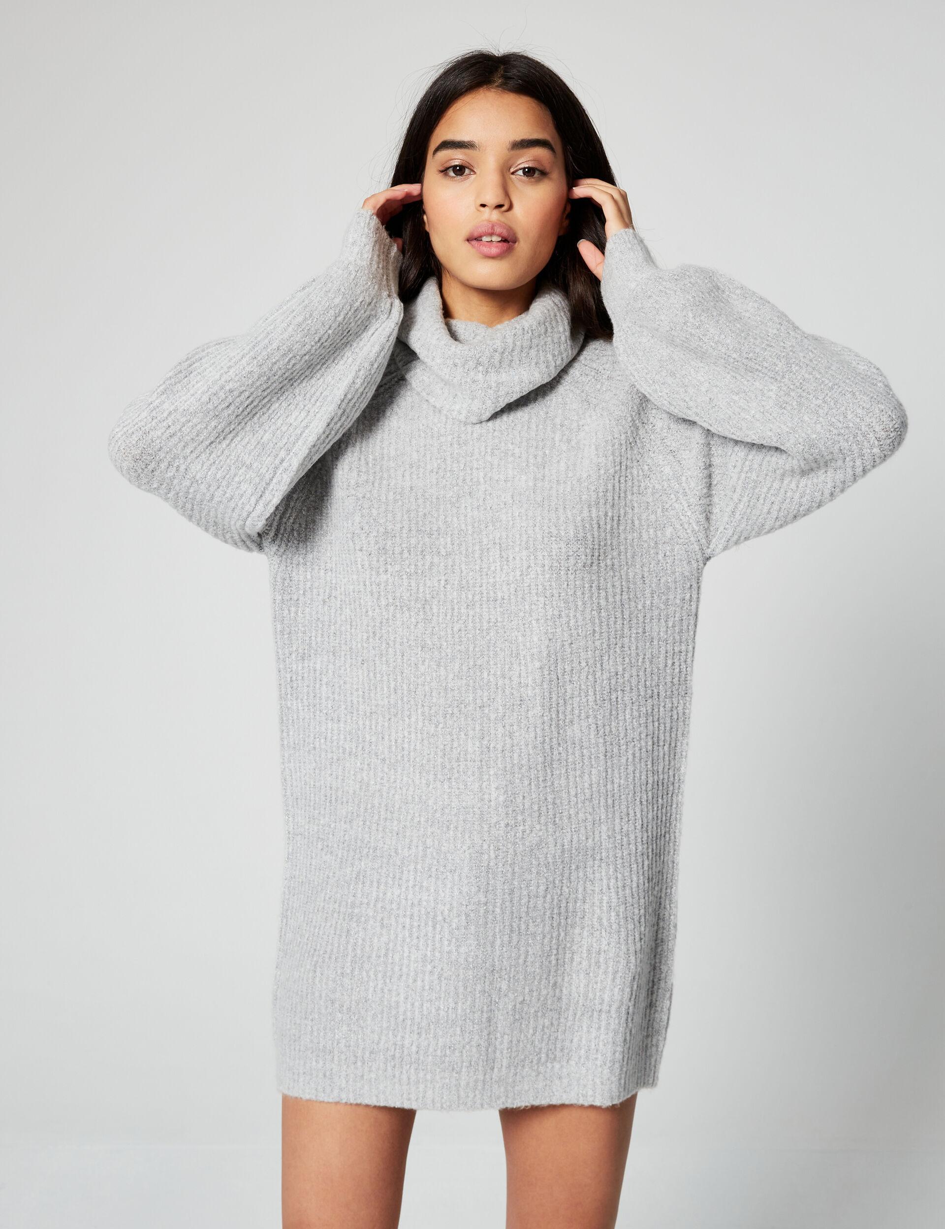 Long oversized jumper