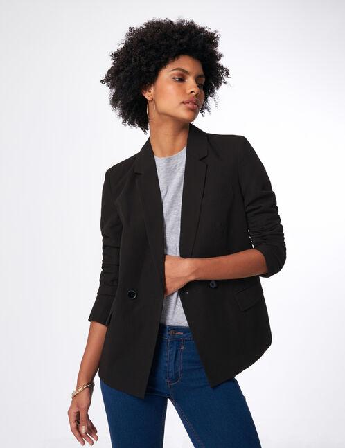 Black 2-button blazer
