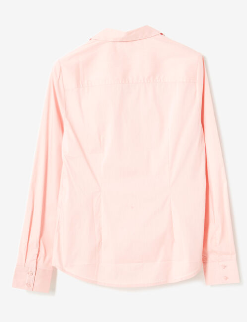 Light pink fitted shirt