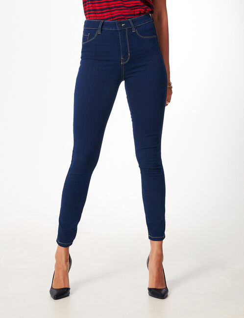 jegging taille haute brut