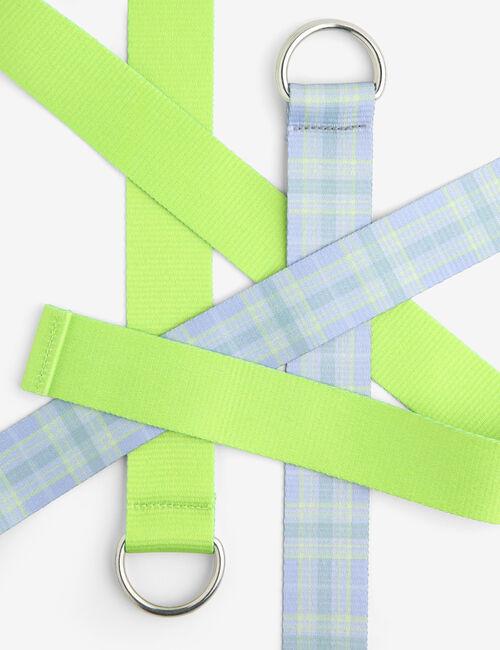 Patterned belts