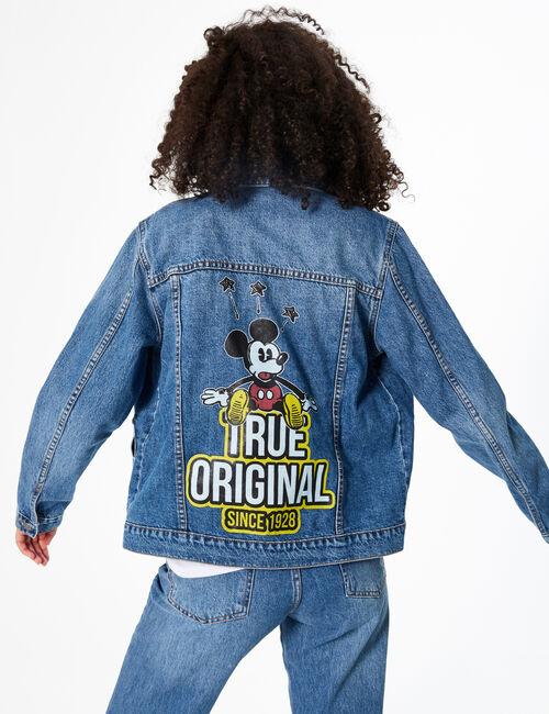 Veste en jean Disney Mickey
