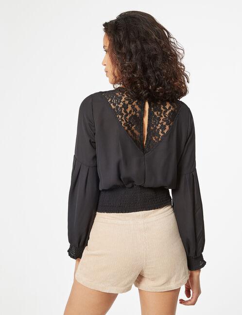 blouse smockée