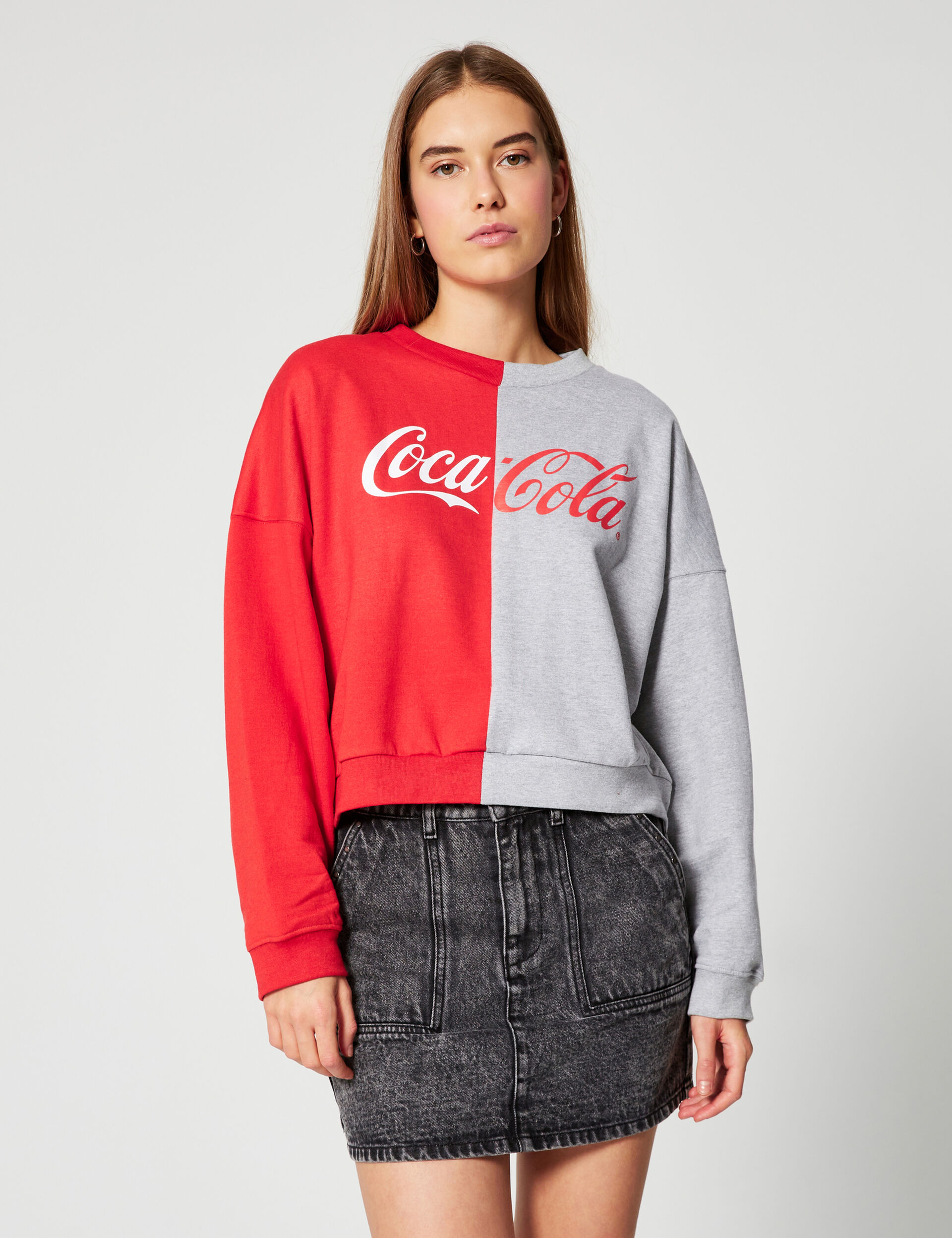 Sweat court Coca-Cola