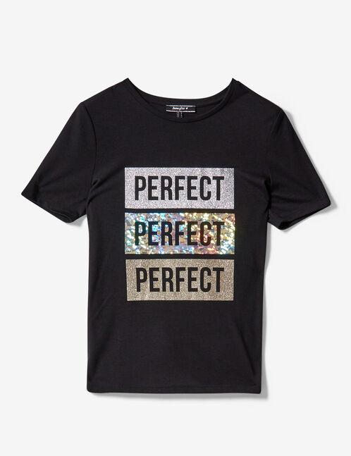 tee-shirt perfect noir