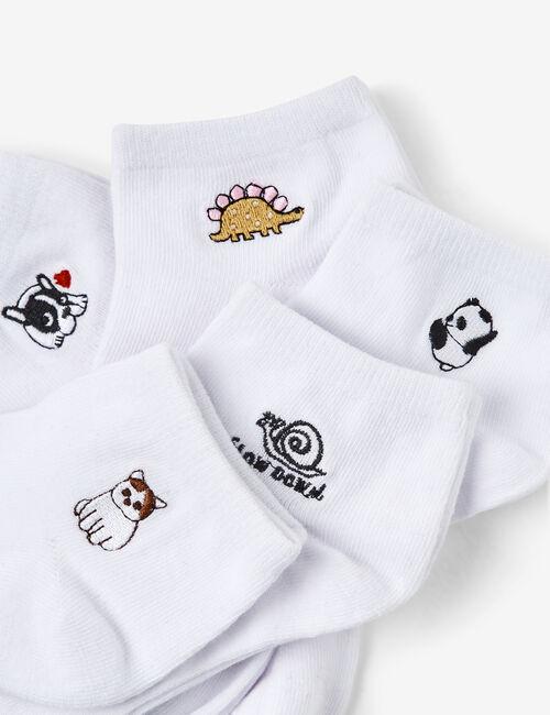 Chaussettes basics à motifs