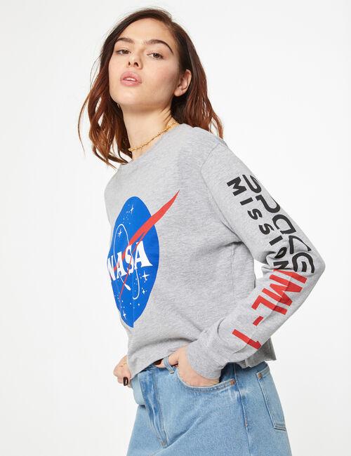 Tee-shirt NASA gris