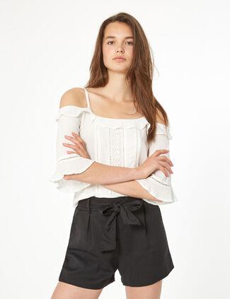 32d735300792fc Short Femme : Taille Haute, En Jean, Destroy.. • Jennyfer