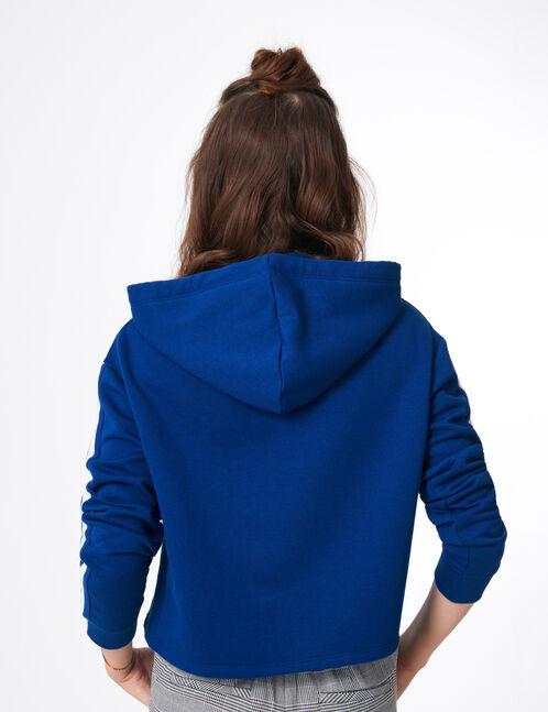 "Blue ""55 squad"" hoodie"