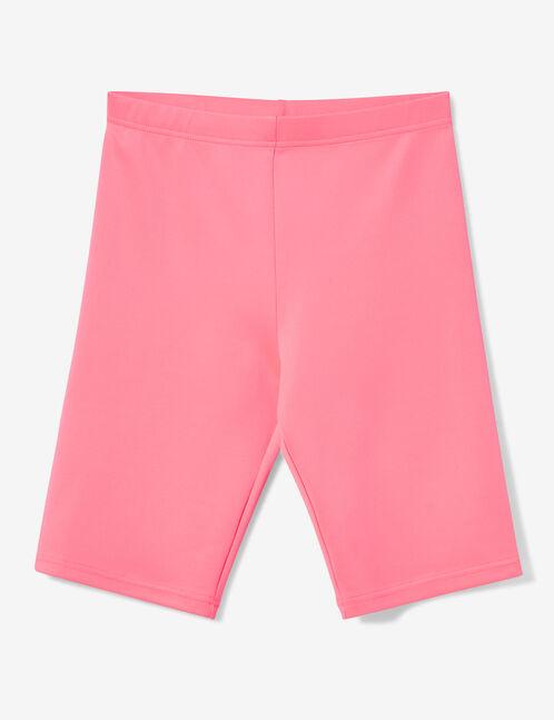 cycliste rose cluo