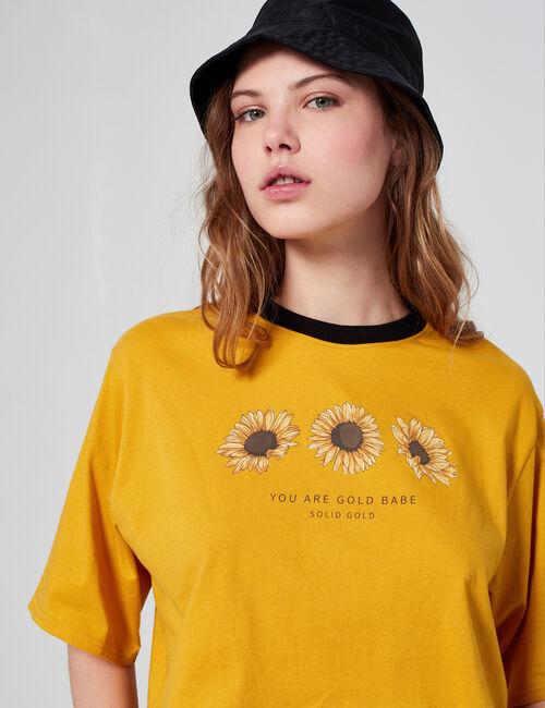 Tee-shirt court fantaisie