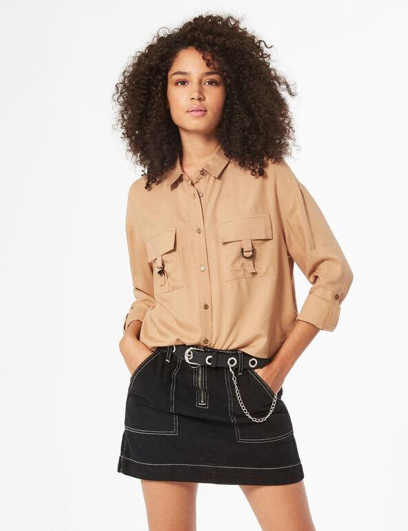 Chemise à poches