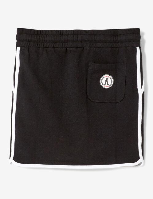 jupe molleton noire