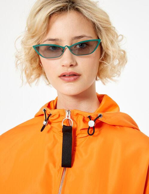 Orange lightweight jacket