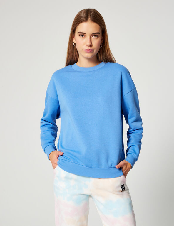 Basic loose-fit sweatshirt