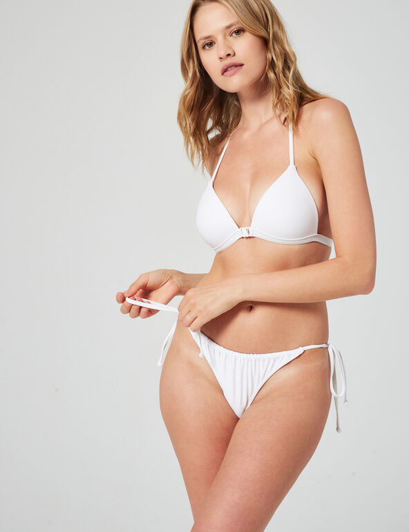 Adjustable bikini briefs