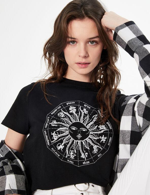 Tee-shirt imprimé signes astrologiques