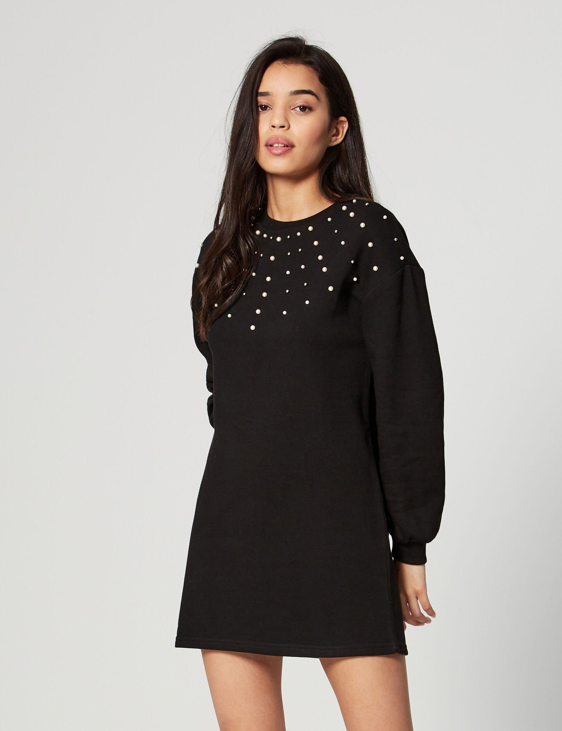 Beaded jumper dress