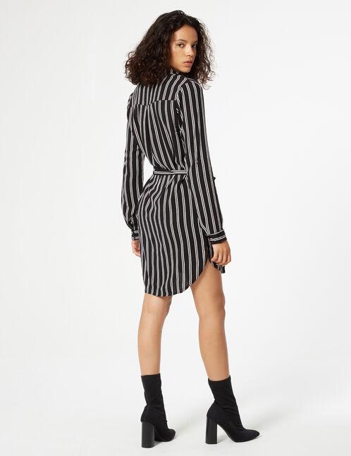 robe rayée