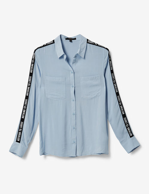 """Sky blue """"nothing to lose"""" shirt"""