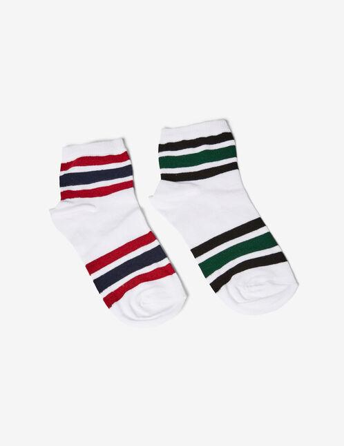 chaussettes esprit sport blanches