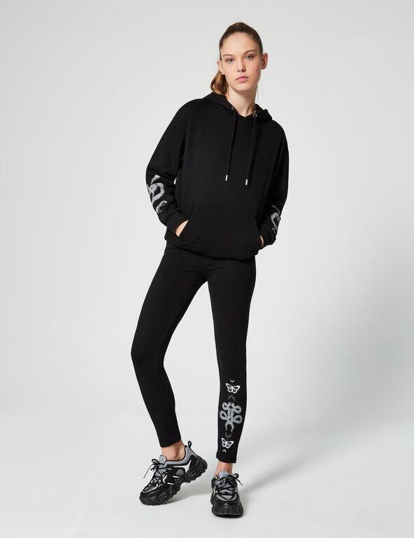 Legging basic à motifs
