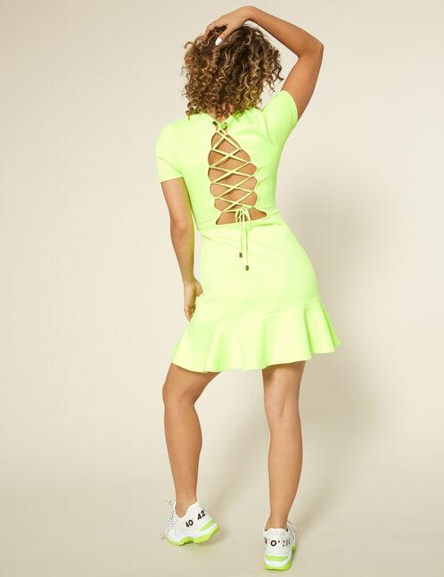 robe roi jaune fluo