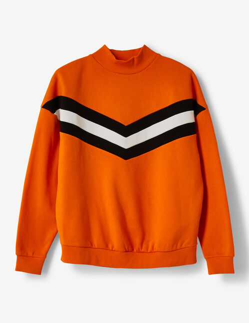 sweat chevrons orange