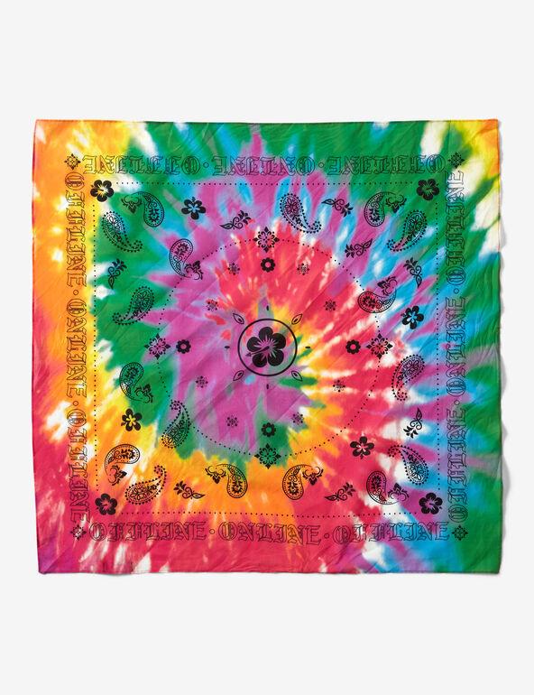 Bandana with motifs