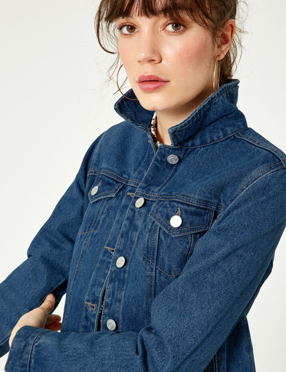 3e1aa04f249c Veste en jean medium blue femme • Jennyfer