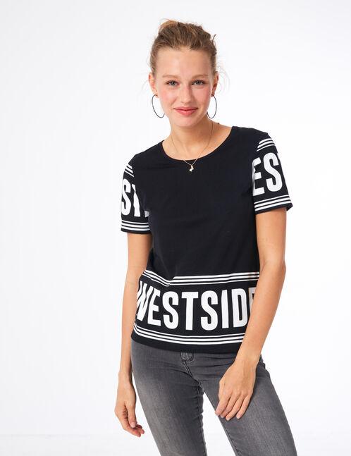 tee-shirt westside noir