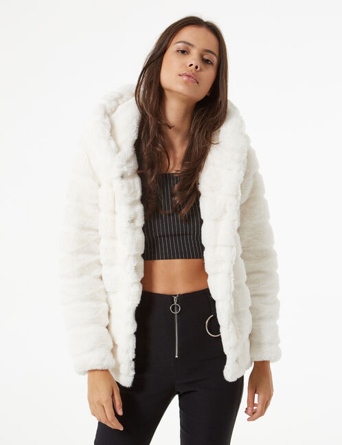imitation fur jacket