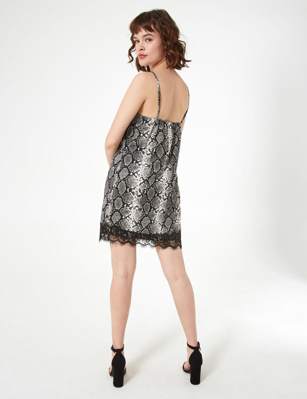 e6235f414ce Robe esprit nuisette python femme • Jennyfer