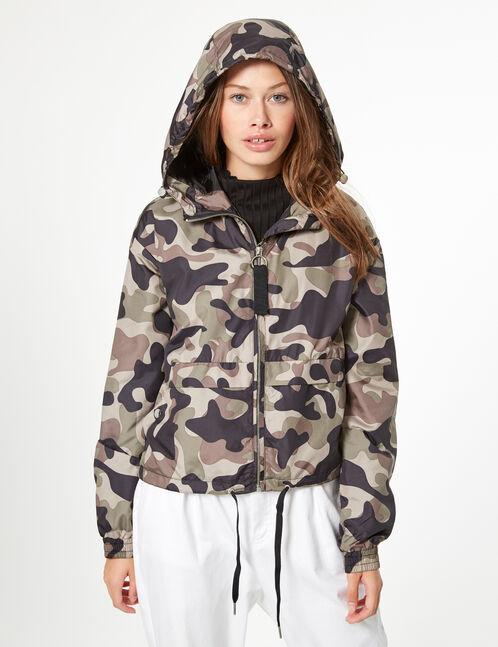 camouflage waterproof jacket