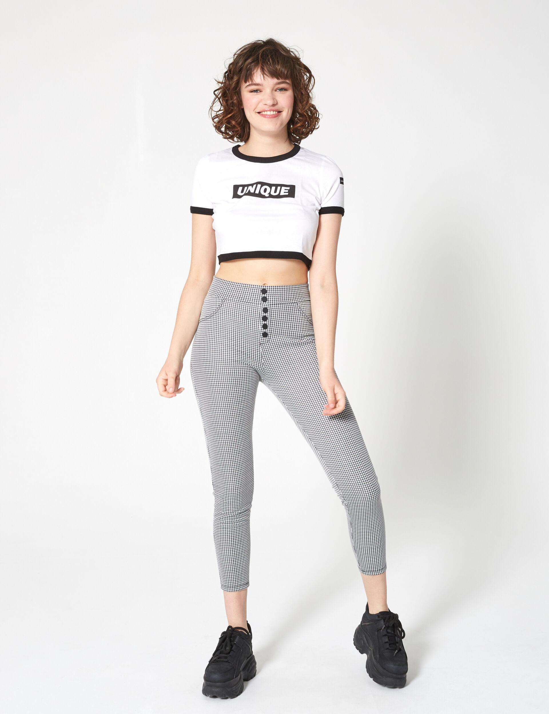 Plain t-shirt with slogan