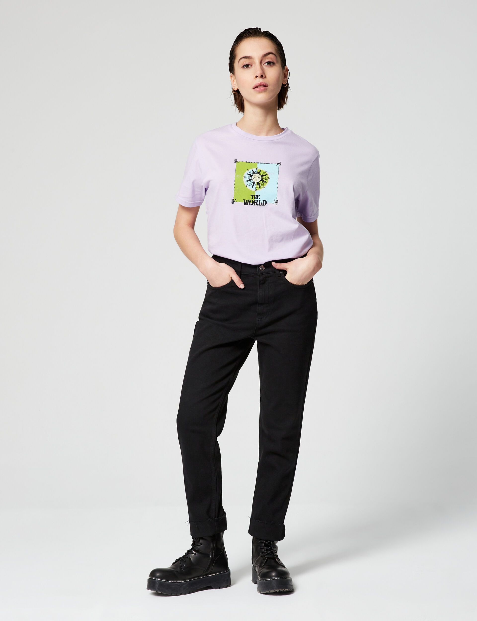 Tee-shirt loose the world