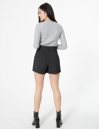 321879888d Short Femme : Taille Haute, En Jean, Destroy.. • Jennyfer