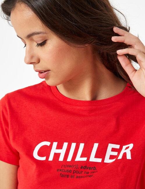 tee-shirt chiller