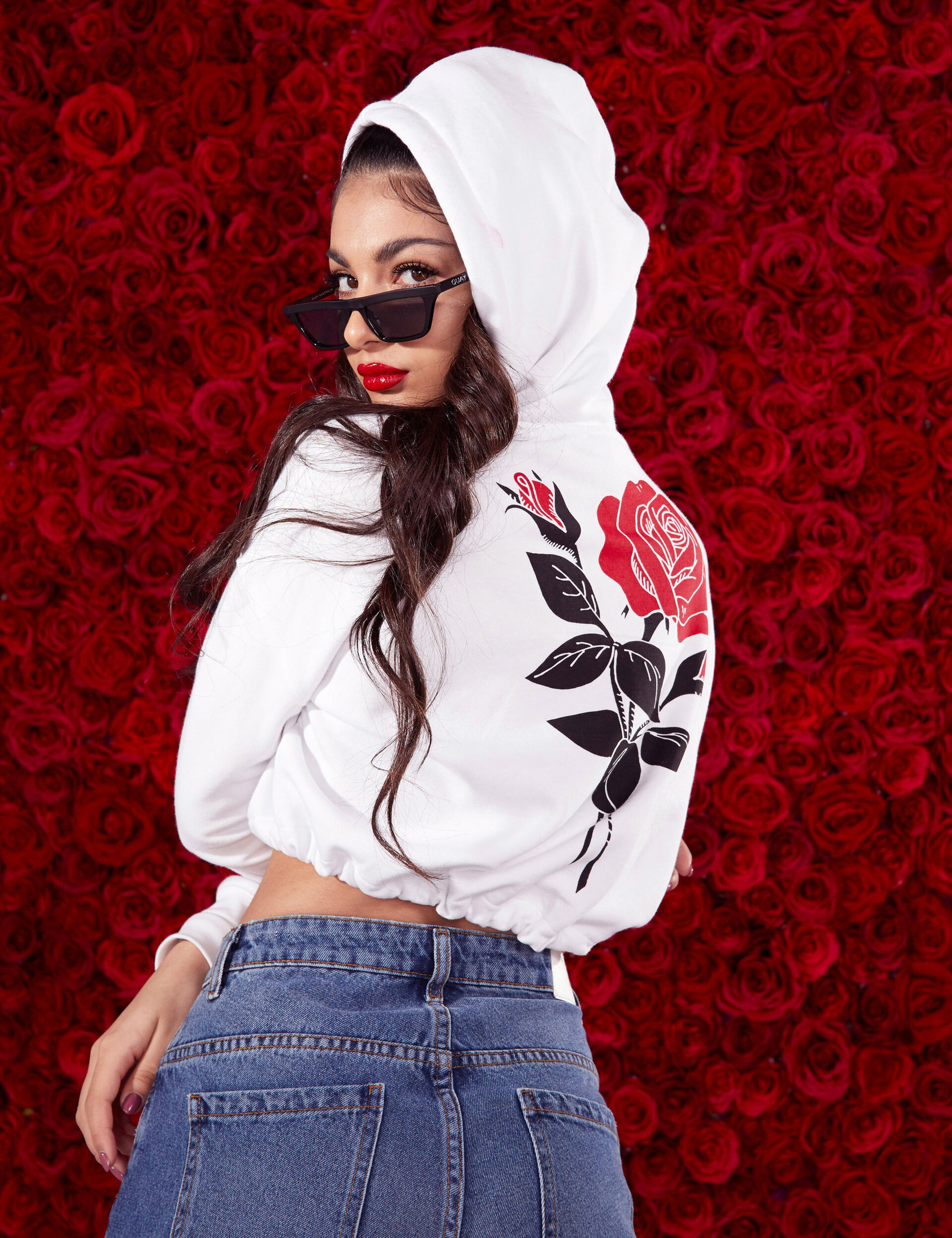 Rosa cropped pullover