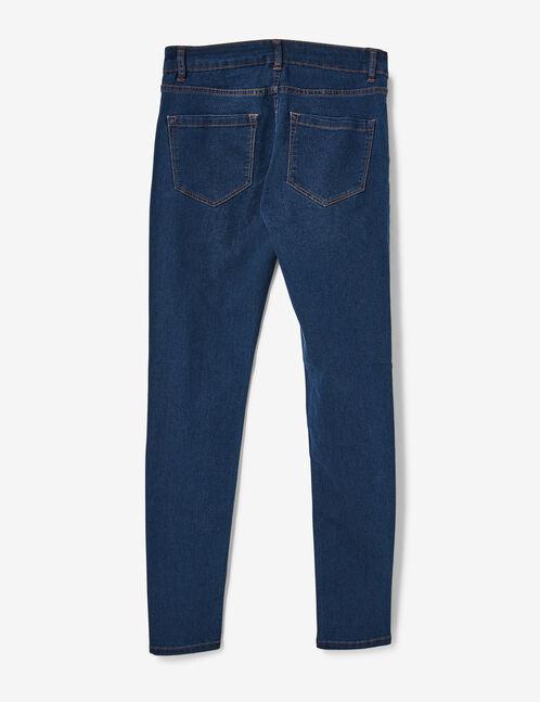 jegging taille medium bleu foncé