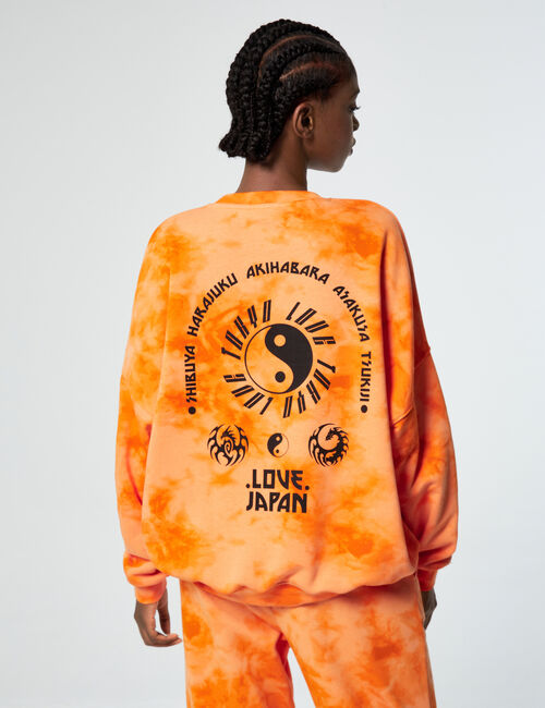 Sweat oversize tie and dye