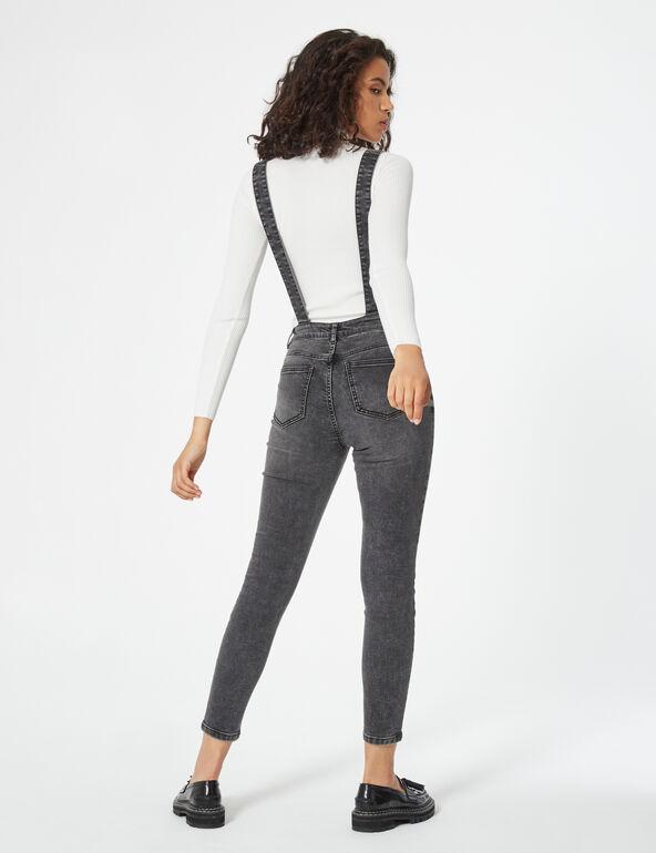 Salopette skinny en jean