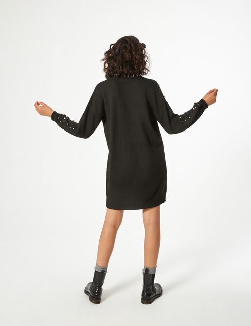 robe pull perlée